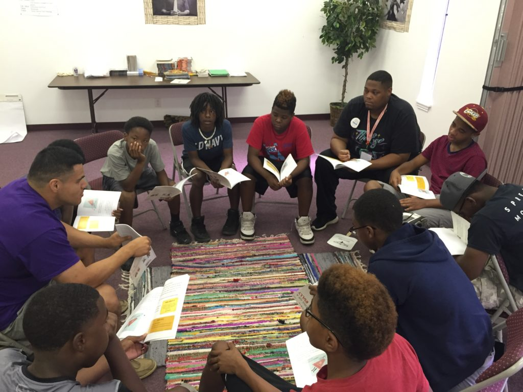 Community Missionary Baptist Church Freedom School, August 2016