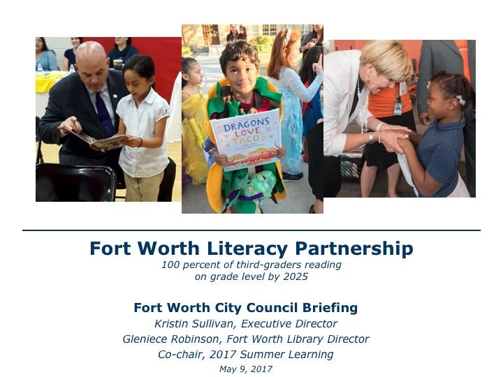 Fort Worth Literacy Partnership