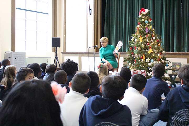 Mayor Price visit to South Hi Elementary 1