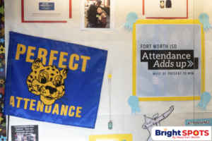 Attendance Adds up.School Attendance with logo
