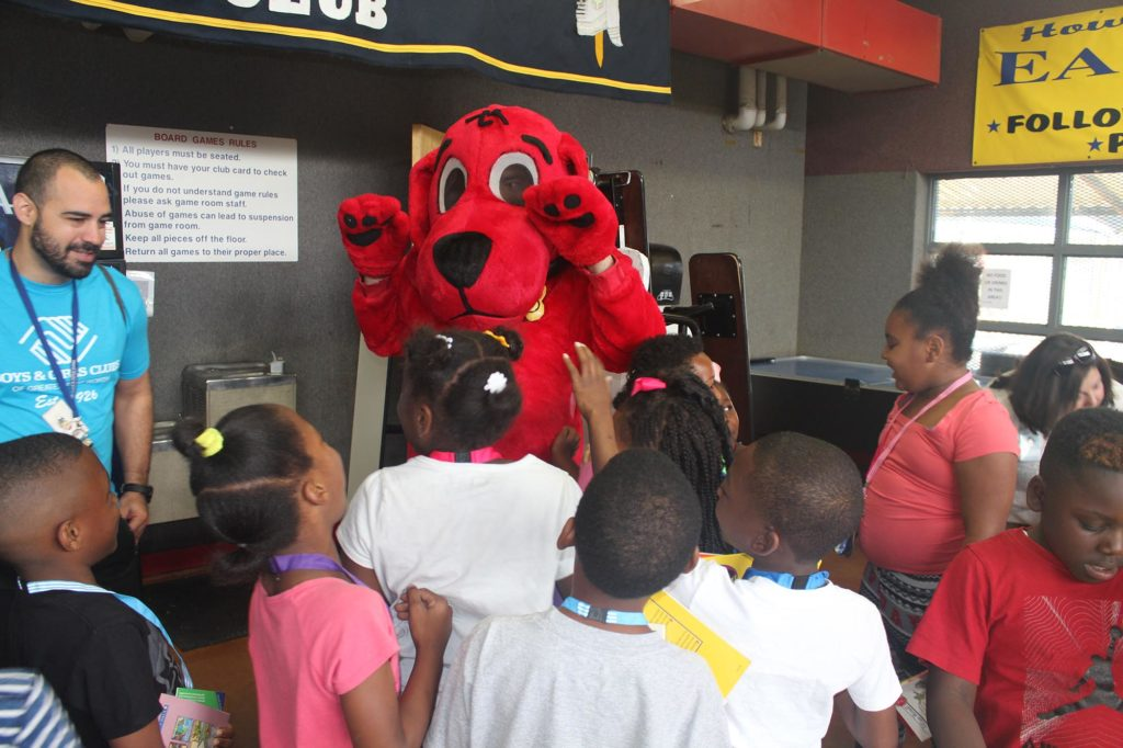 Clifford visits our Summer Scholars