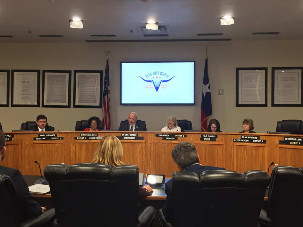 Fort Worth ISD Board of Education