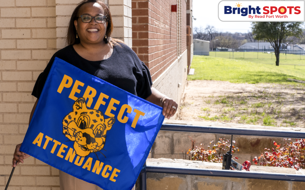 Outside Perfect Attendance with BS logo