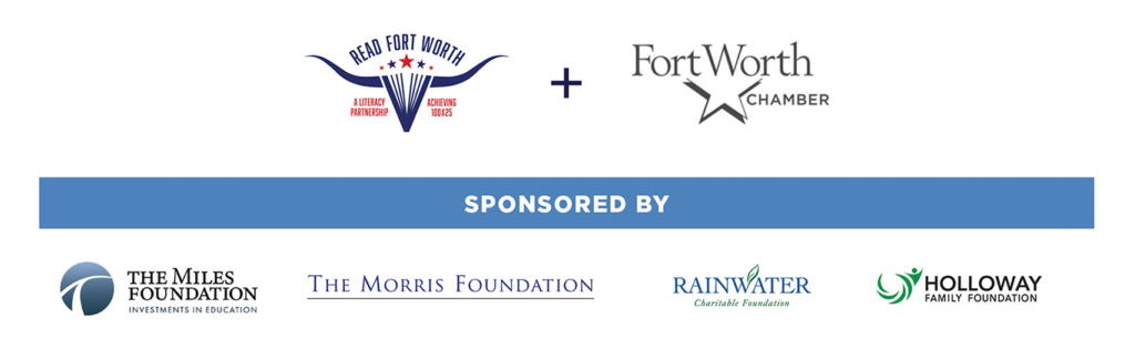 ReadFortWorth flyer sponsors